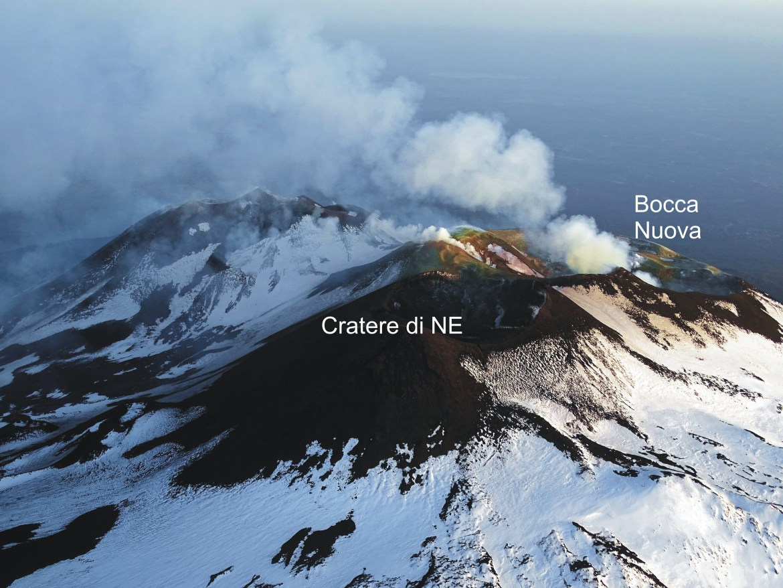 Crateri Sommitali Etna 25 aprile 2018