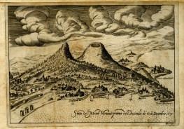 Figura 1 - Il Vesuvio prima dell'eruzione del 1631 (Masculo, 1633).