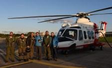 Equipaggio che ha effettuato il sorvolo del teatro eruttivo il pomeriggio del 26 dicembre 2018, mediante l'elicottero messo a disposizione dal 2° Nucleo Aereo della Guardia Costiera di Catania. Per l'INGV hanno partecipato Stefano Branca e Marco Neri.