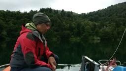 10 - INGV - campionamento di acque nel lago di Monticchio