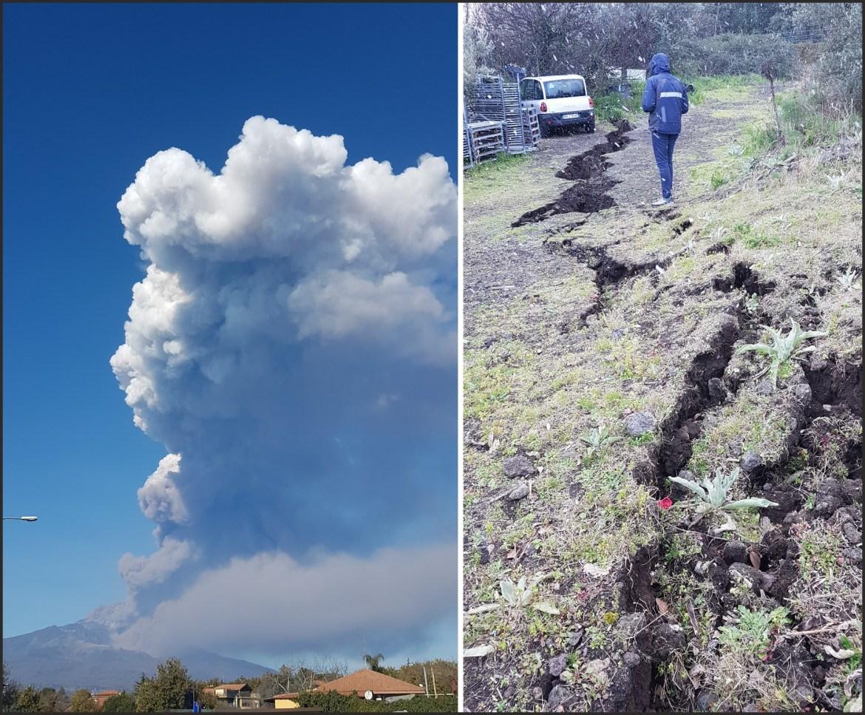 eruzione Etna 2018