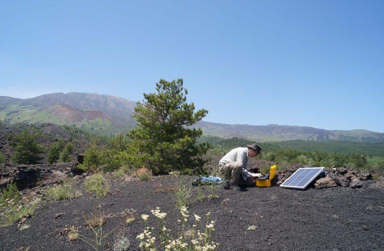 Nuovi sensori svelano i movimenti della Faglia della Pernicana, Etna