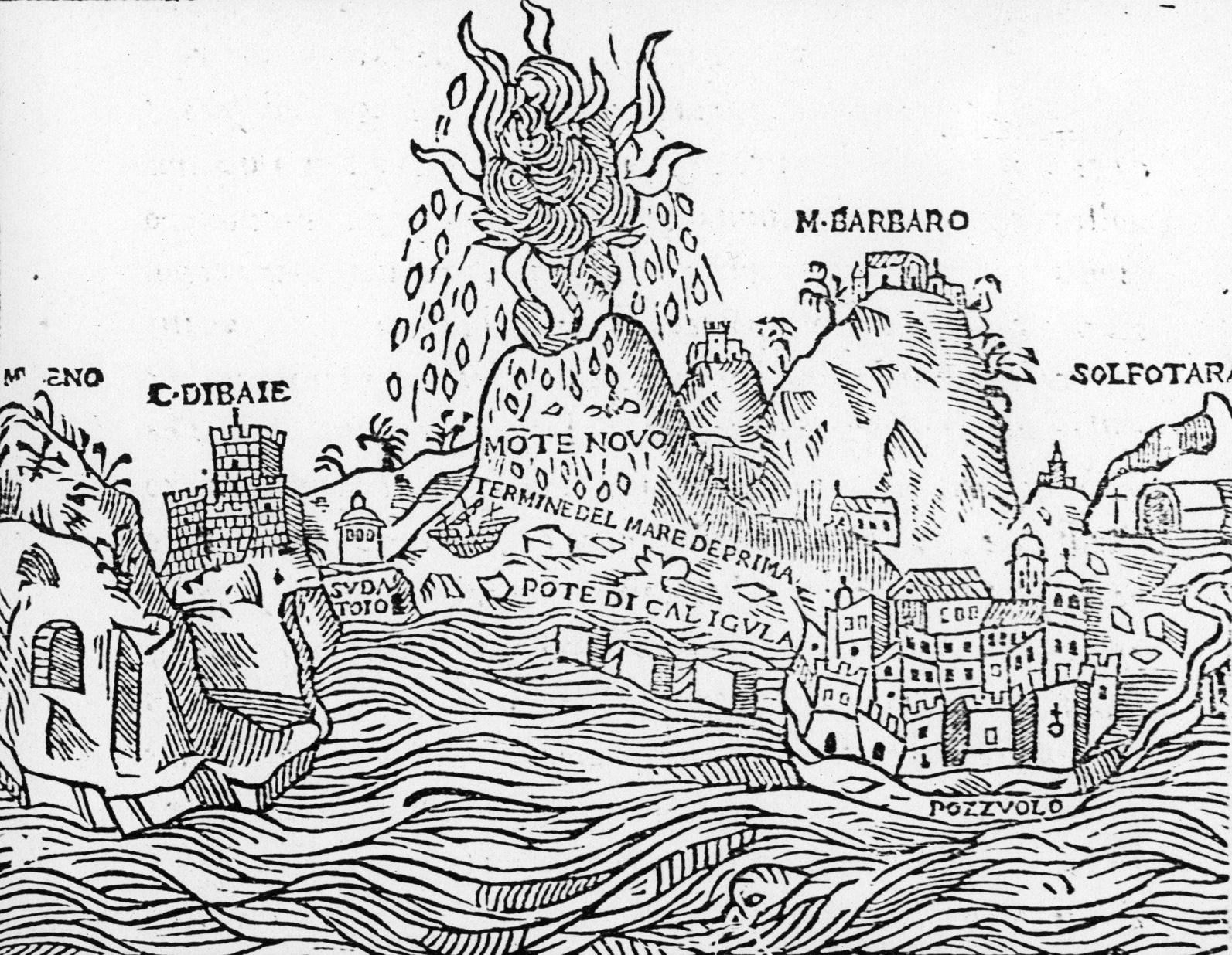 Storia del Monte Nuovo, l'ultima eruzione dei Campi Flegrei