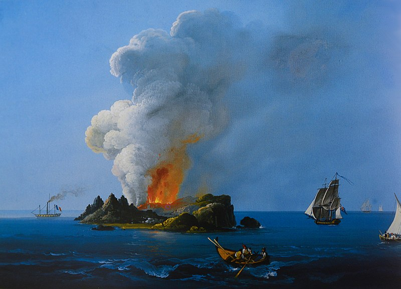 C'era una volta… l'isola Ferdinandea!