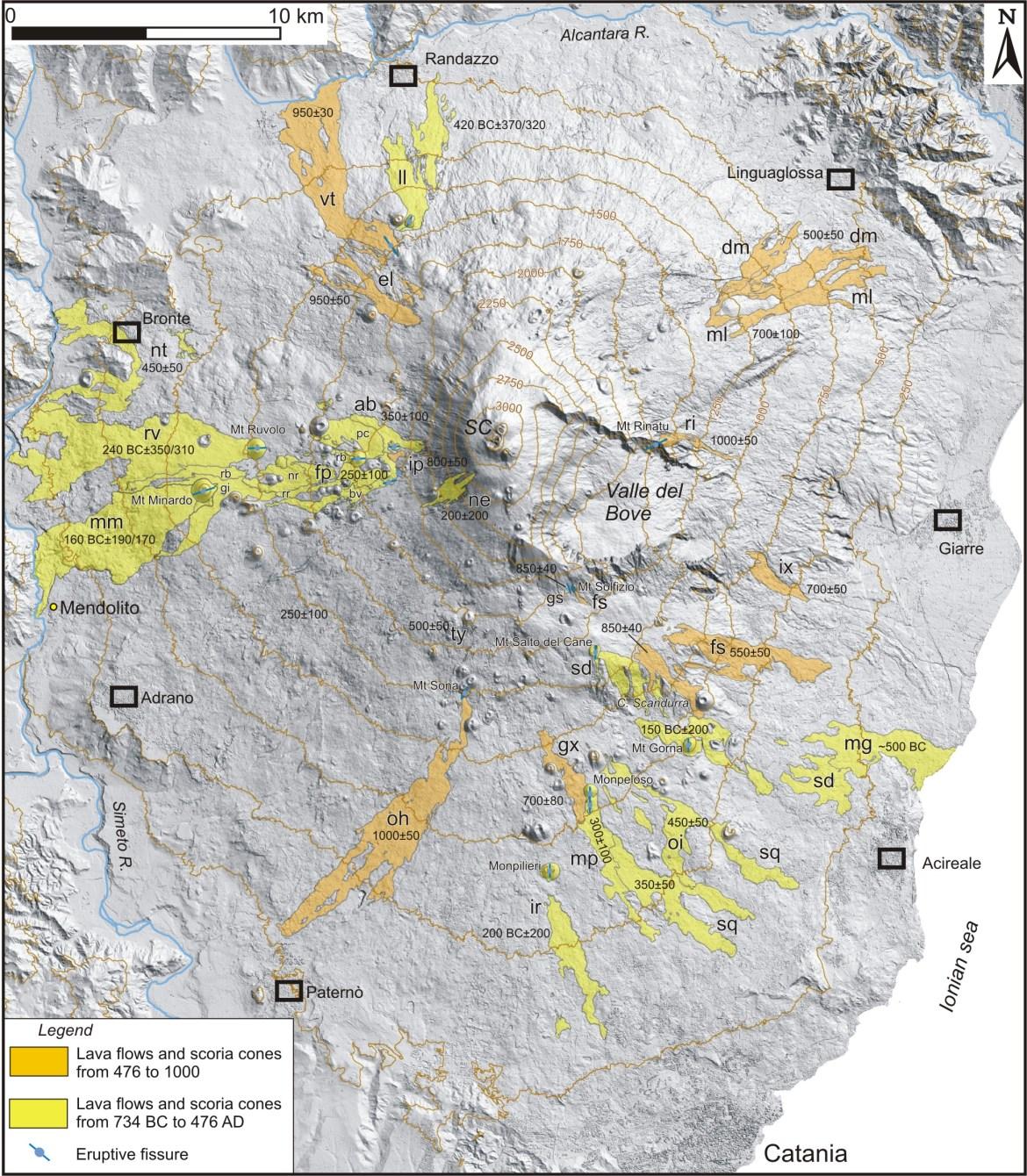 Etna eruzioni storiche 02
