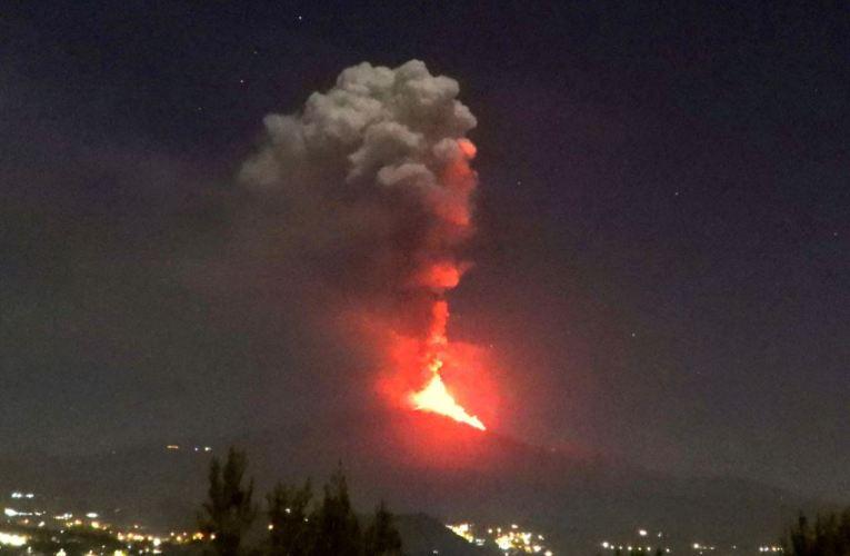 Sempre più forte, sempre più grandioso. Etna, 22 – 25 febbraio 2021