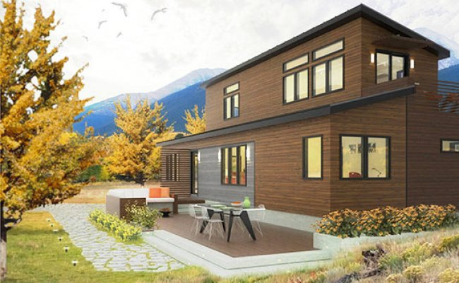 Blu Homes Releases Plans For Their Two Story Prefab Home