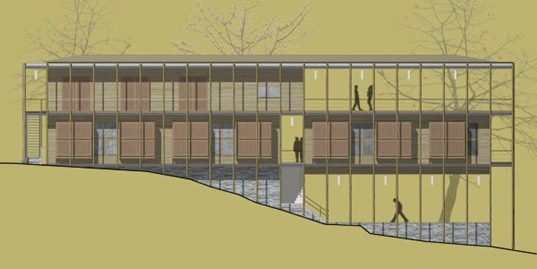 Bamboo Veiled Dormitory By Architecture BRIO Inhabitat Green Design Innovation
