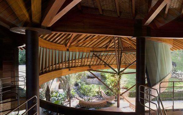The Breezy. Beautiful Brazilian Leaf House
