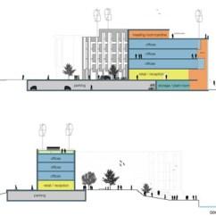 Architecture Section Diagram Circular Flow Chart Template Building Various Architects Inhabitat Green Design Site Plan
