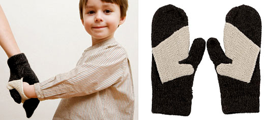 Knit Scarf With Pockets For Hands