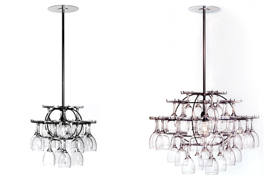 Wine Glass Chandelier Inhabitat Green Design Innovation Architecture Building