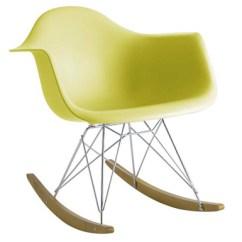 Cheap Modern Rocking Chair Desk Sinking The Eames Eco Chic Rocker Inhabitots