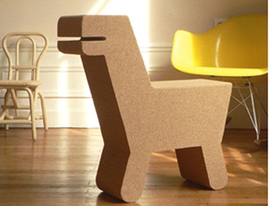 POP CORK  Dinosaur Chair  Inhabitots