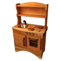 Solid Wood Toy Kitchen Hanging Lights 7 Eco Friendly Play Sets Inhabitots Camden Rose Green Kids Baby