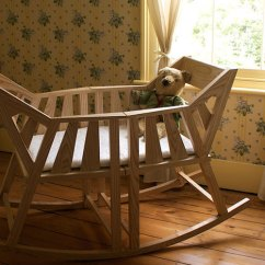 Rocking Chair Cradle La Z Boy Lift Error Codes Baby S By Martin Price Transforms Into Two Chairs