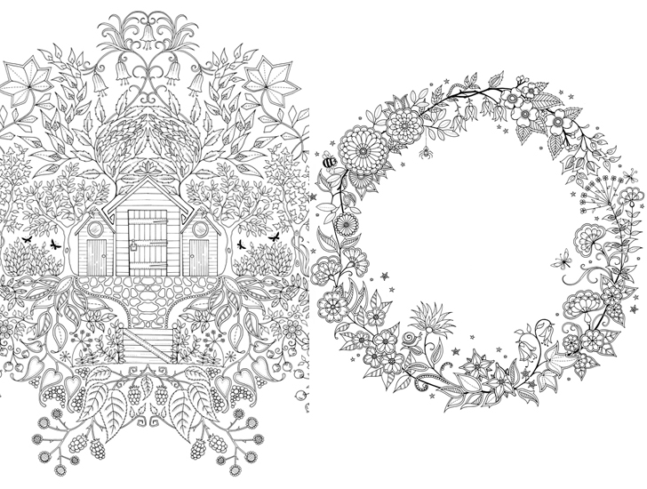 Unleash your inner child with Johanna Basford's coloring