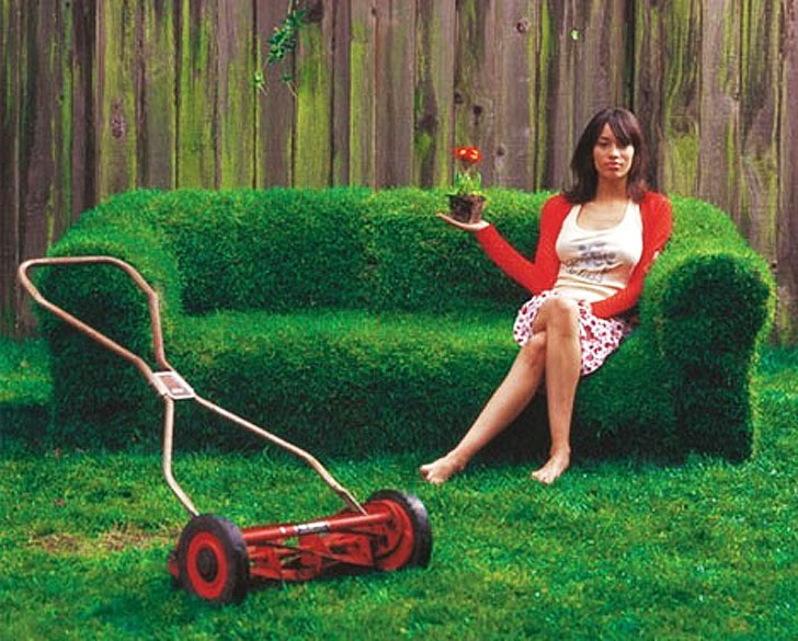 DIY Lawn Couch For Sweet Summer Lounging Inhabitat Green Design Innovation Architecture