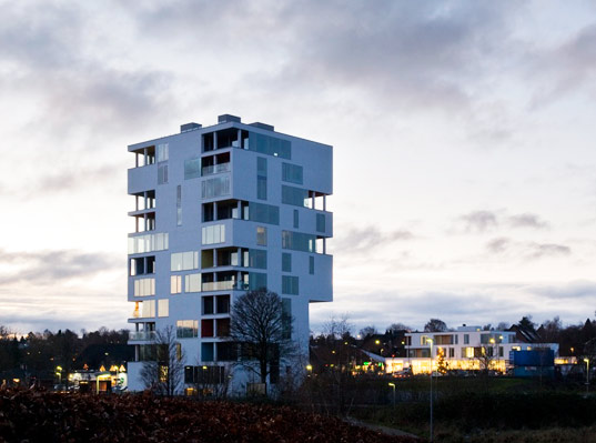 sustainable design, green design, industrial reuse, adaptive  reuse, silo building, C. F. Møller Architects, Christian Carlsen  Arkitektfirma, recycled materials, sustainable architecture