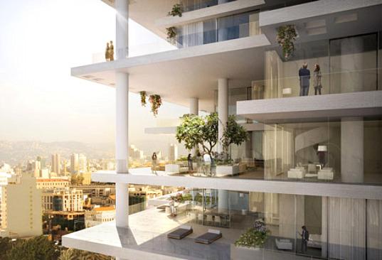 Beirut Terraces by Herzon  de Meuron  Inhabitat  Green