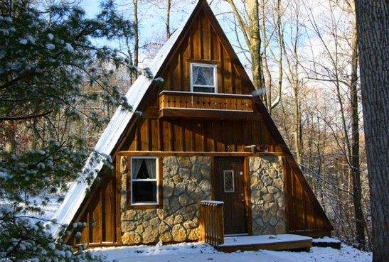 Modern AFrame by Lindal Cedar Homes  Inhabitat  Green