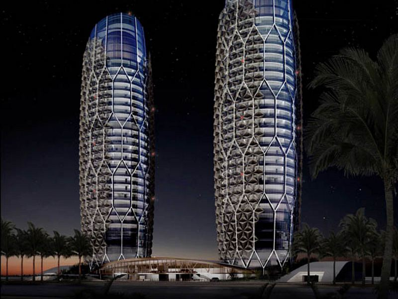 SolarPowered Crystalline Towers Unveiled for Abu Dhabi