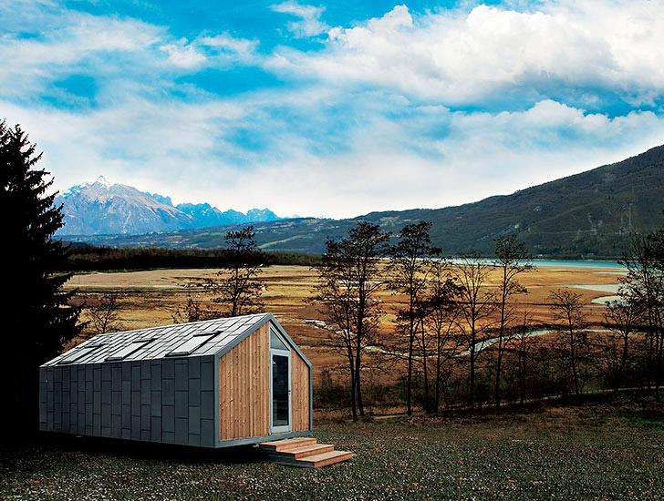 Prefabricated Hangar Homes are Micro Houses on Wheels