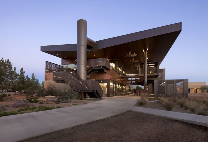 Paradise Valley Community College Life Science Building  Inhabitat  Green Design Innovation Architecture Green Building