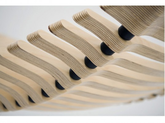 Adam Cornish, wooden hammock, sustainable furniture design, Herman Miller, Herman Miller design competition, Yves Behar, plantation plywood furniture, Workshopped, SAYL Chair, eco design, eco furniture, green design