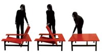 Clever Sweetch18 Table Transforms into a Chair in a Snap ...