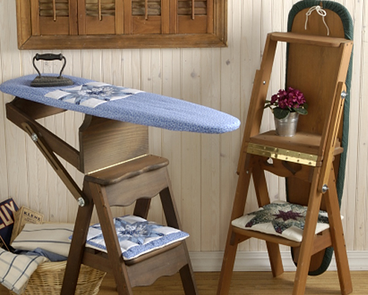 chair step stool ironing board covers n more the bachelor is a stool, seat and all in one ...