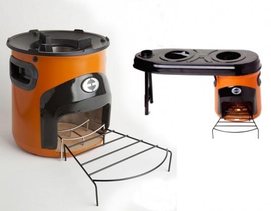 Diy Indoor Wood Stove Awesome Small Burning Camping