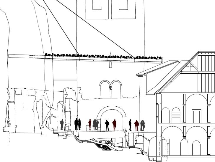 Couverture Ruine Archeologique-Savioz Fabrizzi Architectes