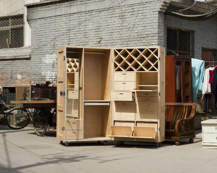 Transforming Crates Unfold to Reveal Incredible Furniture