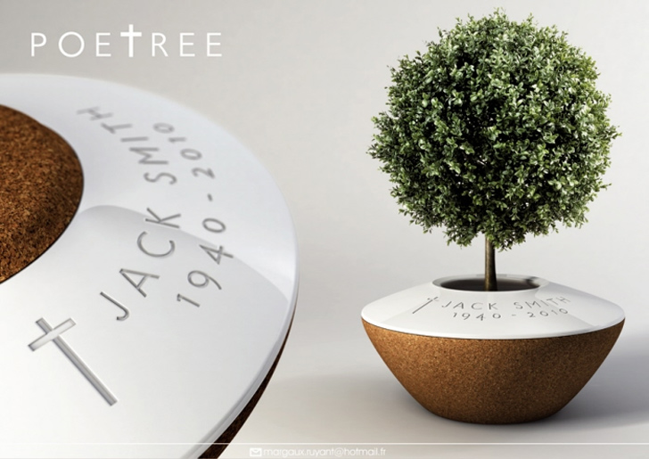 poetree burial planter is