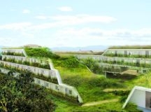 OFF Architecture's Terraced Green Roofed Apartments To Add ...