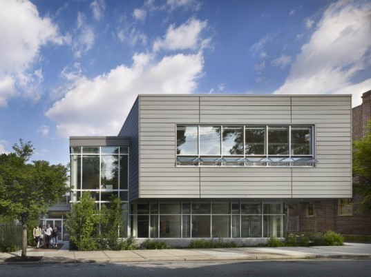 Sustainable Urban Science Center, SMP Architects, germantown friends school, green roof, philadelphia, living laboratory, eco laboratory