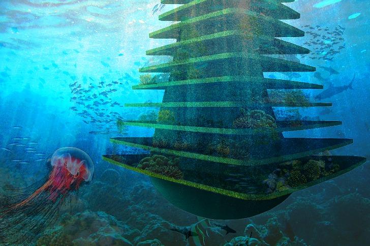 Underwater Floating Habitat