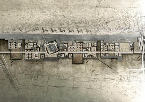 Aquatic Housing Plan Design
