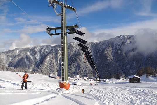 ski chair lift fabric covers for dining chairs tenna solar « inhabitat – green design, innovation, architecture, building