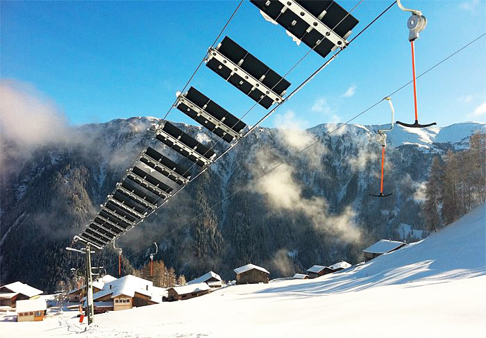buy ski lift chair counter height tables and chairs tenna switzerland unveils world s first solar wing powered environment