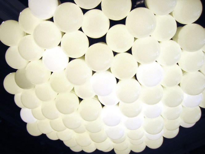 85 Lamps Chandelier From Droog Gets Eco Friendly Led Update Inhabitat Green Design Innovation Architecture Building