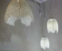 Nervous Systems Ethereal 3D-Printed LED Leaf Lamps Shine ...