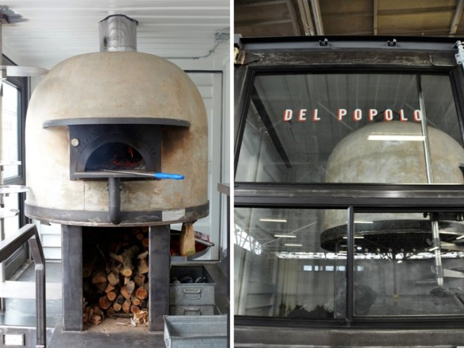 pizza oven from naples,del popolo