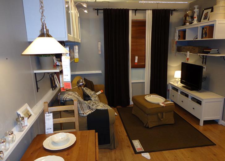 PHOTOS See Inside IKEA Brooklyns Tiny 391 Sq Ft Model