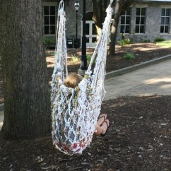Hammock Chair Instructions Moon Target Diy: Make A From Upcycled Plastic Bags | Inhabitat - Green Design, Innovation ...
