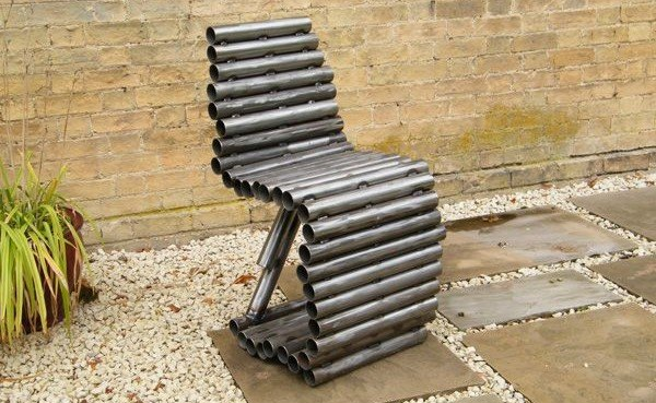 Ashley BaldwinSmiths Tube Chair is Made Entirely from