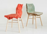 Colorful Well Proven Chair is Made from Recycled Wood ...