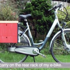 Bike Beach Chair Holder Extra Wide Lawn Chairs Berto Aussems' Awesome Diy Toolbox Is A Mobile Workbench On Wheels | Inhabitat - Green ...