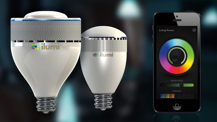 SuperEfficient iLumi LED Bulb Lasts for 20 Years and Can